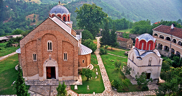 Studenica Monastery in Serbia © D.Bosnic Archive National Tourism Organisation Serbia