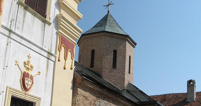 Velika Remeta monastery, Vojvodina, Serbia by Velika Remeta is an easy trip from Sremski Karlovci © Lumen roma, Wikimedia Commons