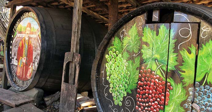 Wine, Rajac, Serbia by Laurence Mitchell