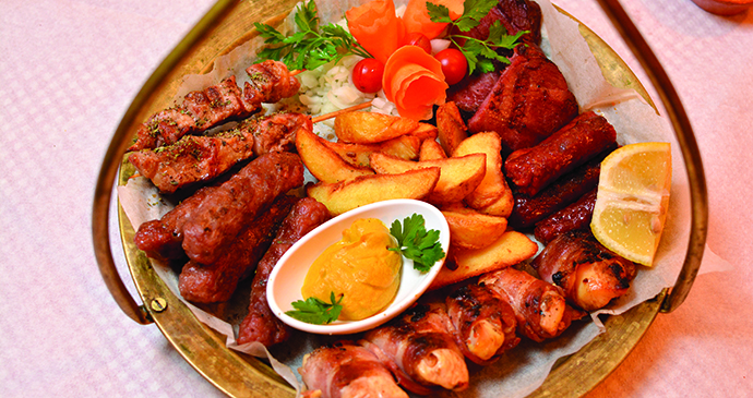 Mixed grill, Niš, Serbia by Tourism Organisation of Niš