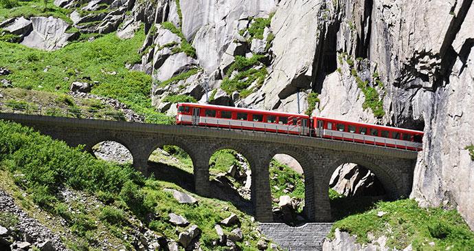 St Gotthard Pass Switzerland by Alexander Chaikin Shutterstock