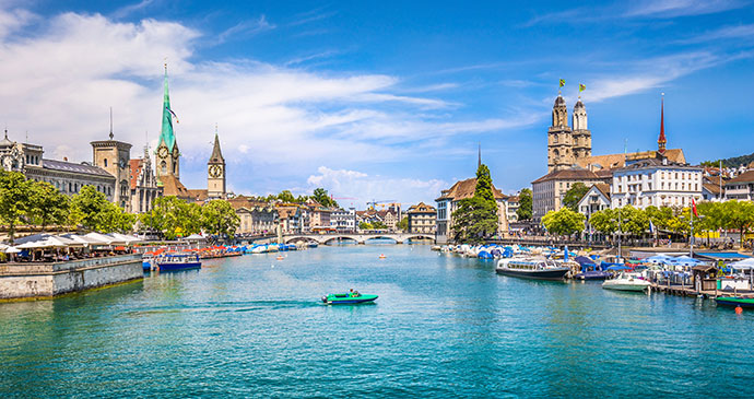 Zürich view Switzerland by canadastock Shutterstock