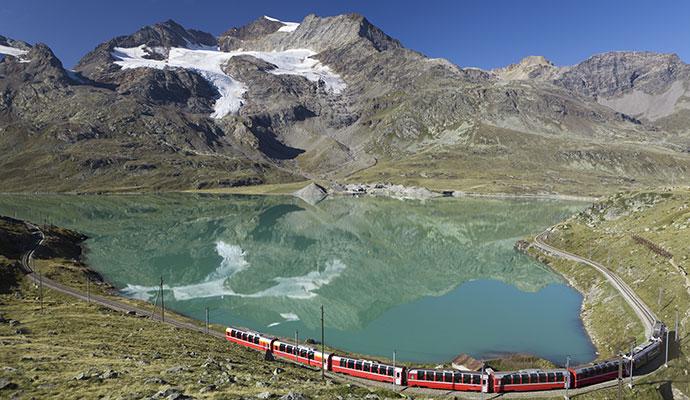 Bernina Express Switzerland by Sculpies Shutterstock