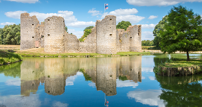 Château de Commequiers, the Vendée, France by Pierre Olivier, Shutterstock