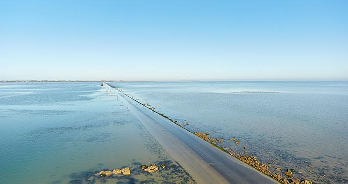 Passage du Gois,  The Vendée, France by A. Lamoureux, Vendée Expansion Pôle Tourisme