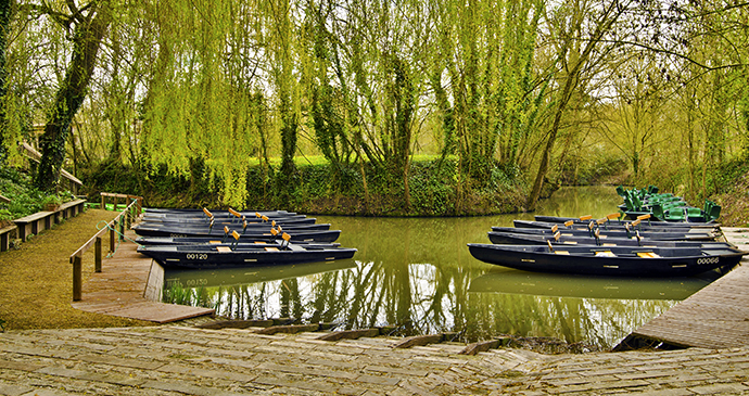 Canoes, Marais Poitevin, the Vendée, France by Sasha64f, Shutterstock