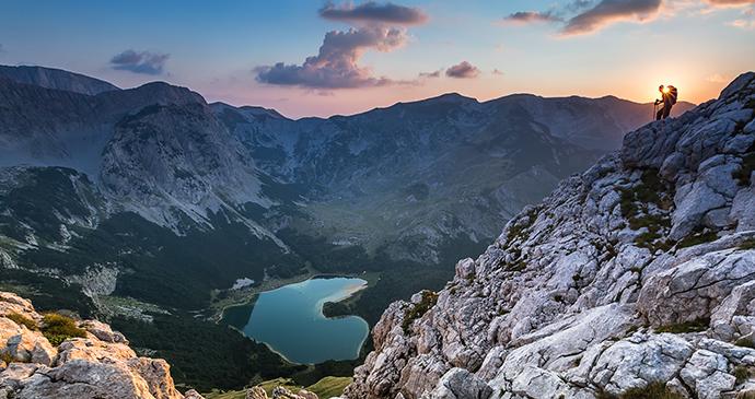 Trnovačko jezero Montenegro Via Dinarica by Adnan Bubalo