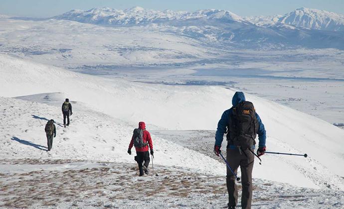 Winter hiking Via Dinarica by Miro Sumanovic