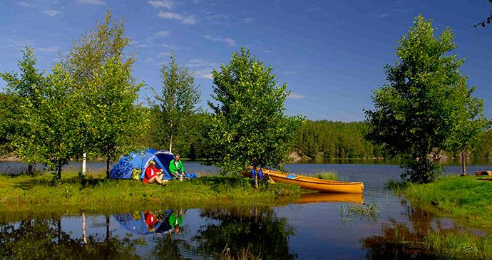 Camping in Dalsland © Goran Assner