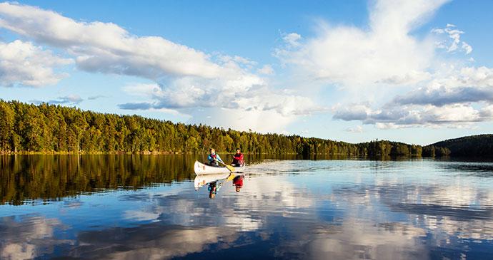 Wild swimming Dalsland West Sweden by Roger Borgelid vastverige.com