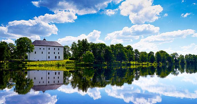 Torpa Stenhus Vastergotland West Sweden by Jonas Ingman