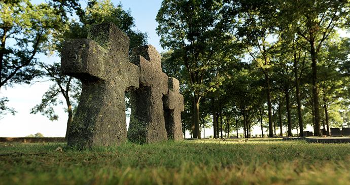 Langemark Cemetery Ypres Belgium Flanders by Milo Profi, Visit Flanders