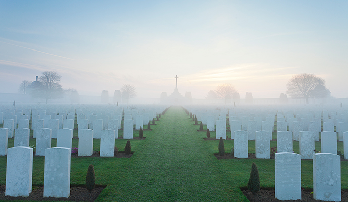 Tyne Cot Flanders Zonnebeke Belgium by Copper Tree Media, Visit Flanders