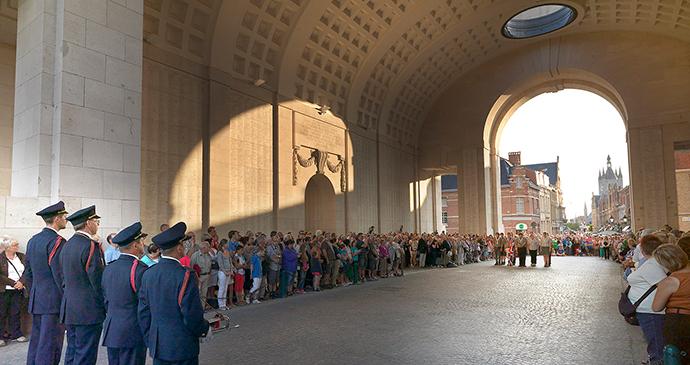 The Last Post Menin Gate Ypres Flanders Belgium by Milo Profi, Visit Flanders