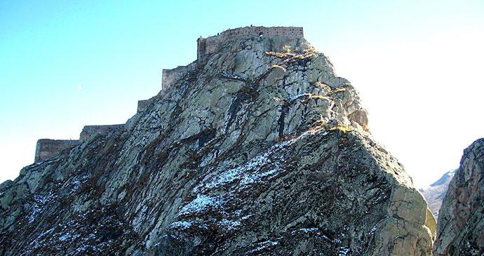 Babak Castle Iran by Abdossamad Talebpour Wikimedia Commons