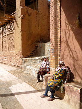 abyaneh residents traditional clothes abyaneh iran by maria oleinik