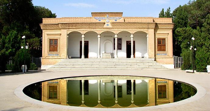 ateshkadeh fire temple yazd iran by m khebra shutterstock