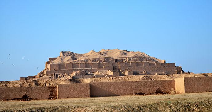 Choga Zanbil, Iran © Darafsh, Wikimedia Commons