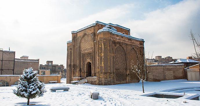 Gonbad-e Alavian tomb Hamadan Iran by Anton_Ivanov Shutterstock