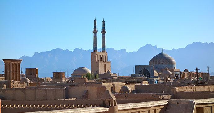 Yazd Iran by pecole, Shutterstock