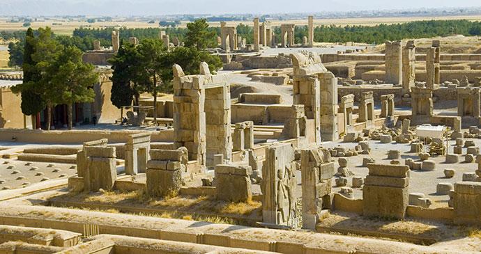 ruins persepolis iran by steba shutterstock