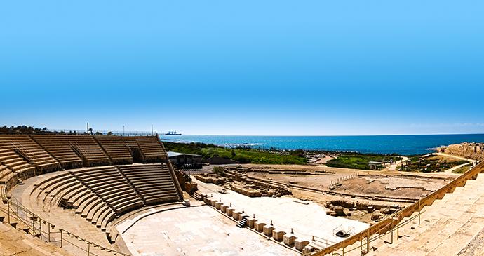 Caesarea Israel by ImagineStock, Shutterstock