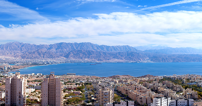 Eilat and Red Sea Israel by StockStudio, Shutterstock