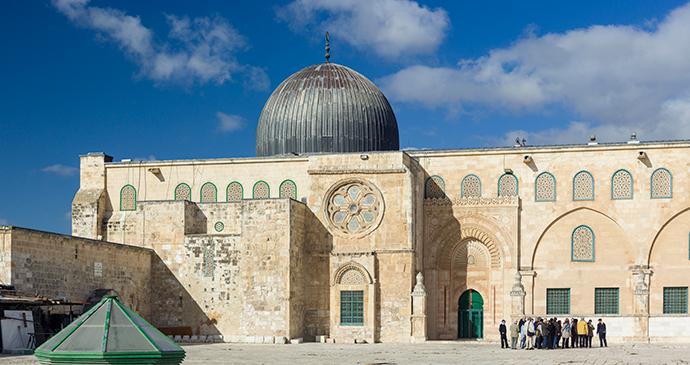 Al-Asqa Mosque Jerusalem by Godot13, Wikimedia Commons