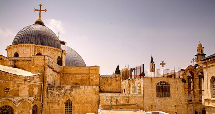 Jerusalem Holy Sepulchre Israel by Noam Chen, IMOT