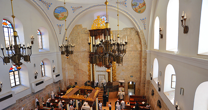 Hurva synagogue Jerusalem Israel by אברהם-גרייצר, Wikimedia Commons