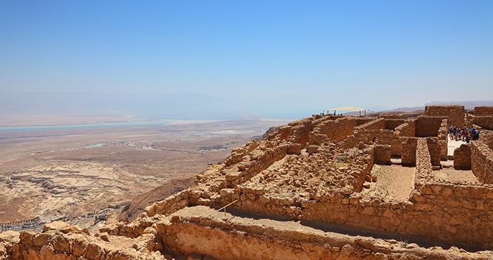 Masada Israel by Protasov AN, Shutterstock