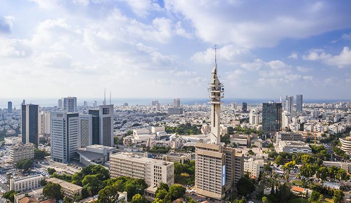 Tel Aviv Israel by Dmitry Pistrov, Shutterstock