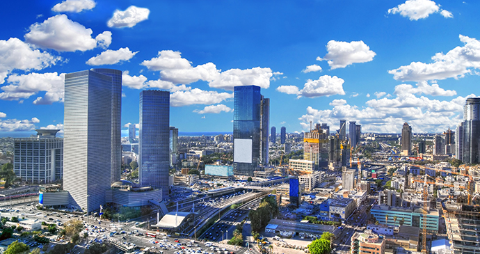 Tel Aviv ISrael by The World in HDR, Shutterstock