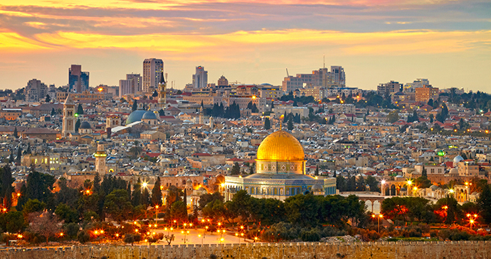 Jerusalem Old City Israel by SJ Travel Photo and Video, Shutterstock