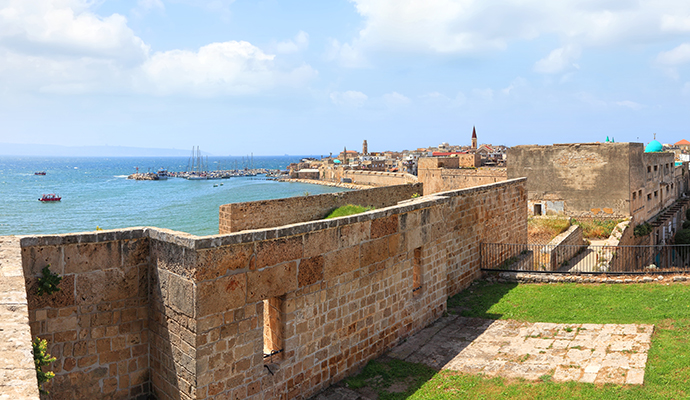 Acre Israel by Protasov AN, Shutterstock