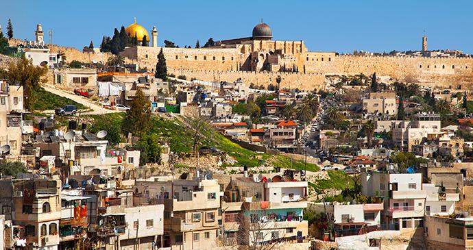 Arab neighbourhood Jerusalem Israel by Olgysha, Shutterstock