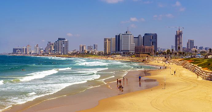 Tel Aviv beach Israel by rasika108, Shutterstock