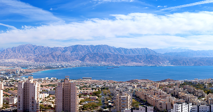 Eilat skyline and Red Sea, Israel © StockStudio, Shutterstock
