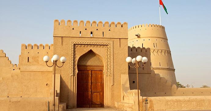 Al Khandaq fort, Al Buraymi by David Steele, Dreamstime