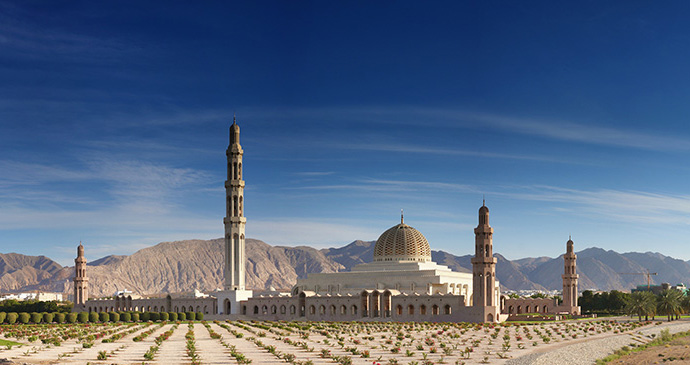 Grand Mosque, Muscat, Oman by Marsaz, Dreamstime