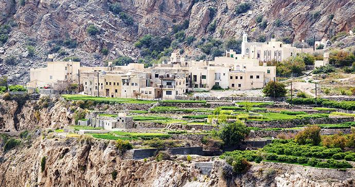 Village, Sayq Plateau, Oman by Zwawol, Dreamstime