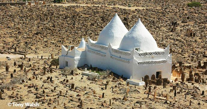 bin Ali Tomb, Mirbat, Dhofar, Oman by Tony Walsh