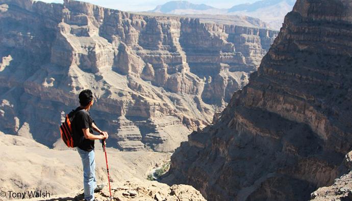 Wadi A'Nakhr, Oman by Tony Walsh