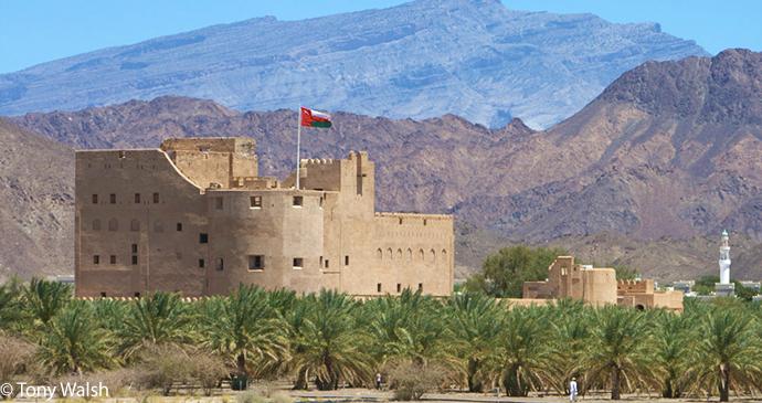 Jabrin Fort, Bahla, Ad Dakhiliyah, Oman by Tony Walsh