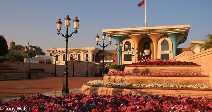 Al Alam Palace Muscat Oman by Tony Walsh