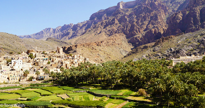 Bald Sayt village, Ar Rustaq, Oman © Tony Walsh