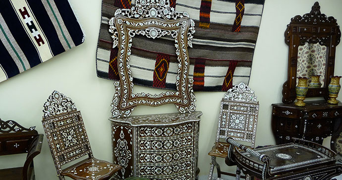 Mutrah suq, Muscat, Oman © Rudolf Tepfenhart, Wikimedia