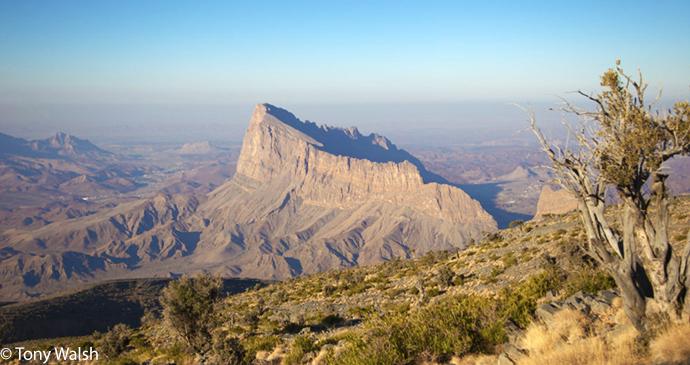Jabal Misht, Jabal Shams, Oman by Tony Walsh