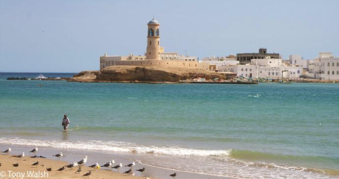 Al Ayjah lighthouse, Sur, Oman by Tony Walsh