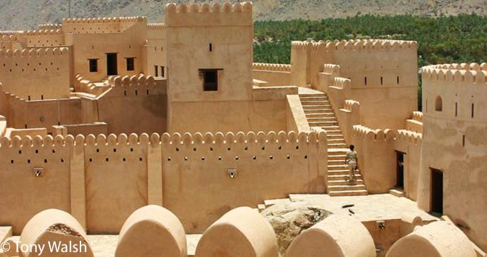 Nakhal Fort, Nakhal, Oman by Tony Walsh